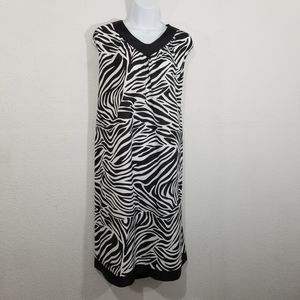 Anthony Richrds size L (20-22) zebra print…